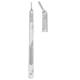 Ручка скальпеля № 3 L (удлиненная изогнутая)