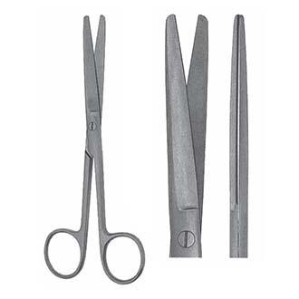 Ножницы Гразила тупоконечные прямые, дл. 145 мм. 07-114-14