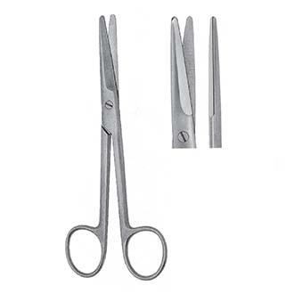 Ножницы Майо тупоконечные прямые, дл. 145 мм. 150 мм. 170 мм. 230 мм.