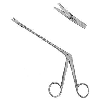 Ножницы специальные Оливекрона (по типу конхотома) изогнутые по ребру длина 230 мм. 07-603-23