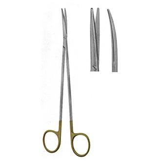 Ножницы Адсона с твердосплавными вставками изогнутые