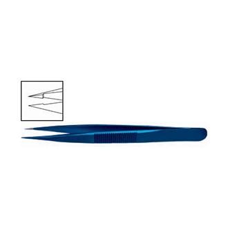 Пинцет ювелирный прямой, титановый OF 017.02