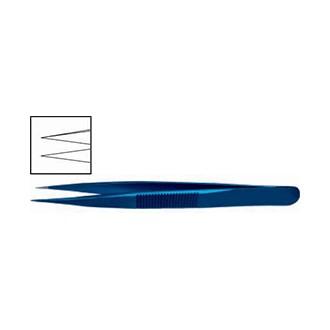 Пинцет ювелирный прямой, титановый OF 017