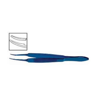 Пинцет для завязывания нитей по Макферсону, титановый. OF 038.01