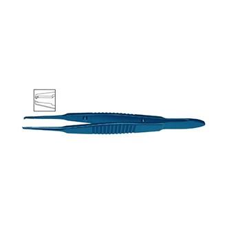 Пинцет склерально-шовный прямой, титановый OF 184.02