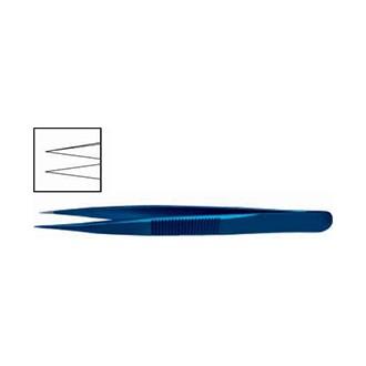 Пинцет ювелирный прямой, титановый OF 017.01
