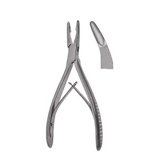 Кусачки костные Янсена изогнутые, дл. 180 мм. 33-916-02