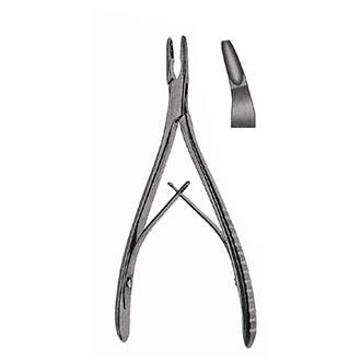 Кусачки костные Лемперта изогнутые, дл. 160 мм.
