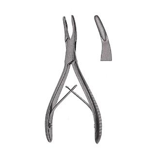 Кусачки костные Люер Фридмана изогнутые, дл. 150 мм. 33-924-15