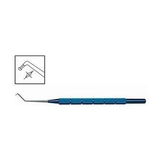 Нож для дробления хрусталика, титановый/стальной OK 002