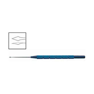 Нож для удаления инородных тел, титановый/стальной OK 012