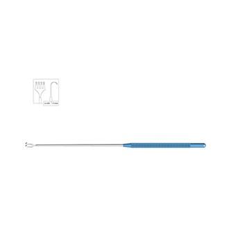 4-зубый крючок, титановый/стальной VE 900.01