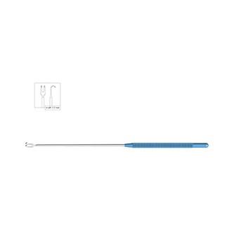 2-зубый крючок, титановый/стальной VE 900