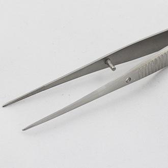 Пинцет деликатный минианатомический прямой