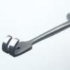 Расширитель-крючок Кохера хирургический 2-зубый тупоконечный