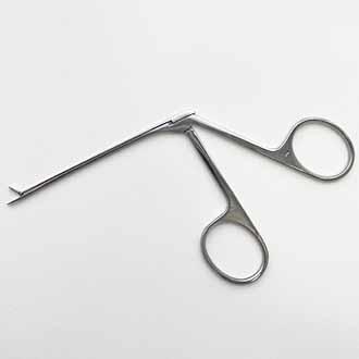 Щипцы ушные для удаления грануляций с нарезкой на губках