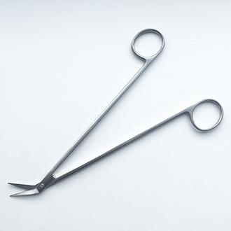 Ножницы сосудистые  Поттс-Смита изогнутые под углом 45 градусов