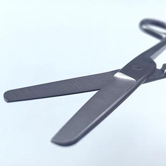 Ножницы  Купера тупоконечные прямые