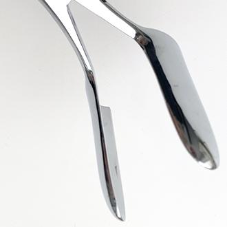 Зеркало ректальное двустворчатое со сплошными губками