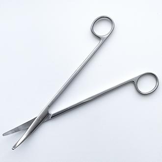 Ножницы Торека изогнутые для рассечения мягких тканей и сосудов дл. 190 мм.
