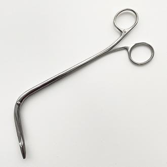 Щипцы гортанные для извлечения инородных тел. Артикул: Щ-4.