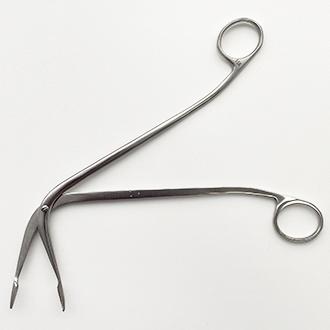 Щипцы гортанные для извлечения инородных тел